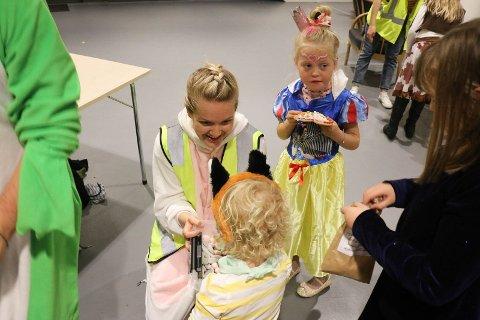 Caroline Espevik tok initiativ til HalloVenn-feiringen for fire år siden. Her fra fjorårets feiring i Ålgård kirke.