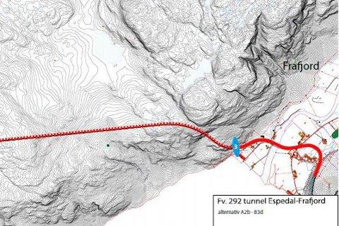 Planleggingsarbeidet med Espedal-Frafjord tunnelen er i gang.