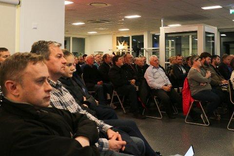 I overkant av 80 mennesker hadde møtt fram for å få siste informasjon fra Vegvesenet om planarbeidet for tunell mellom Frafjord og Espedal.