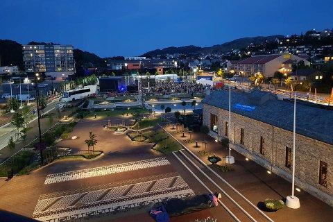 Ålgård sentrum er en av finalistene i kåringen av Norges beste uterom.