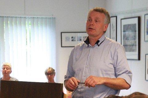 Varaordføreren i Forsand, Tore Hans Mikkelson (Sp), ville i utgangspunktet ikke mene noe om hvordan forbindelsen mellom Frafjord og Espedal skal se ut på Frafjord-siden.