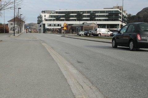 Ole Nielsens vei er blant veiene som skal få ny asfalt en gang i løpet av de neste månedene.