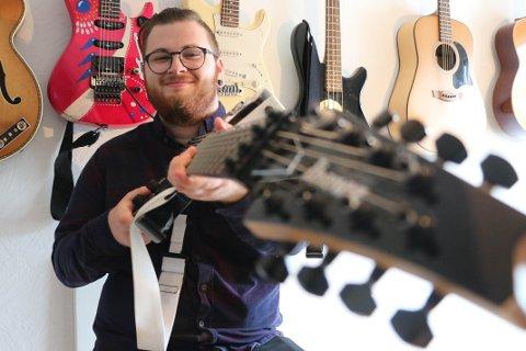 Jørgen Nybøe, med kunstnernavnet Neuro Spaceship, er ute med ny EP (foto: Håvard Ovesen).