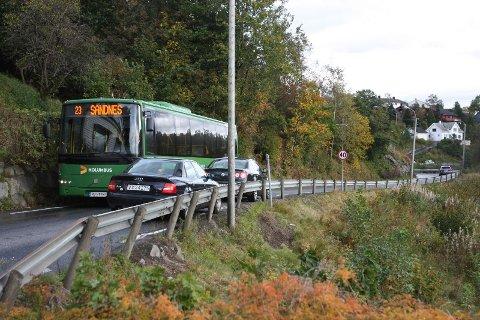 Veien mellom Figgjo og Ålgård blir stengt natt til onsdag.