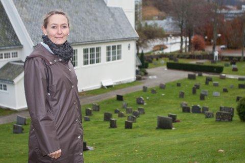 Diakon Tonje Vilberg Bjerkreim i den norske kirke i Gjesdal kommune (arkivfoto: Lena Fjeldheim Goursaud).