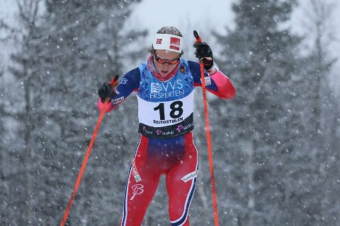 Renate Bergset Tjetland bor og trener i Lillehammer. Denne helga deltar hun i NM på ski i Tromsø.