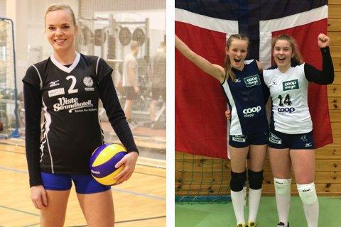Susanna Salanto vant NM-gull sammen med Randabergs eliteserielag, mens Karoline Bjerkreim og Pia Øfstaas gikk til topps i regions-NM i helga (foto: Kirsten Håland og Nils Bjørnar Øfstaas).