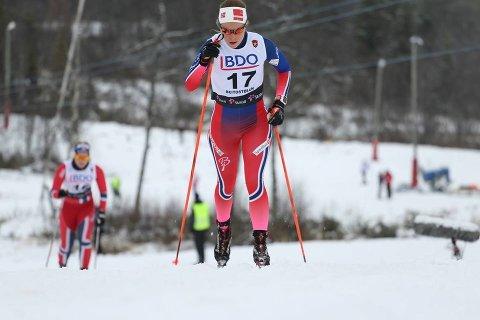 Renate Bergset Tjetland gikk videre til kvartfinalen i NM-sprinten fredag (arkivfoto).