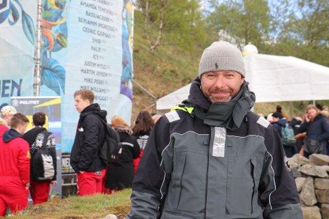 Presseansvarlig for Landstreffet 2019, Aasmund Lund.