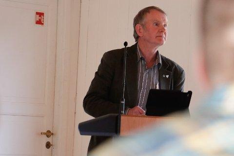 Torbjørn Fjermestad frå Senterpartiet blir ikkje lei seg om heile nye E39 sørover blir skrinlagd.