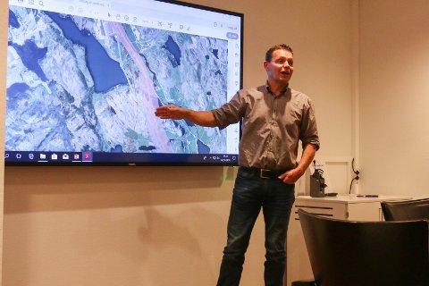 Tarjei Gjesdal under et tidligere møte om E39.