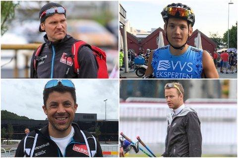 "Øystein ""Pølsa"" Pettersen (øverst til venstre), Stian Hoelgaard, Nils Ingar Aadne og Sjur Røthe er blant langrennsløperne som skal delta på årets Blink Classics."