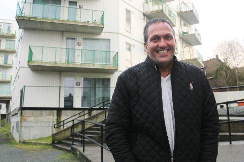 Andreas E. Eidsaa jr. driver med eiendomsforvaltning på fritiden. Blant eiendommene han har fått inn i portfolioen, er Elvegaarden på Ålgård.