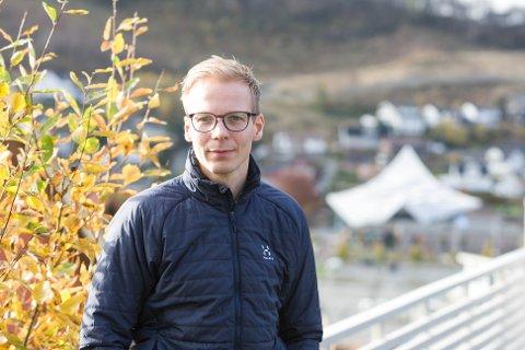 Næringsansvarlig André Andreassen i Gjesdal kommune har siden midten av mars også har ansvar for å kommunisere ut det som har med koronasituasjonen å gjøre. Arbeidet har han stort sett utført fra sitt hjemmekontor i Solbakkane.