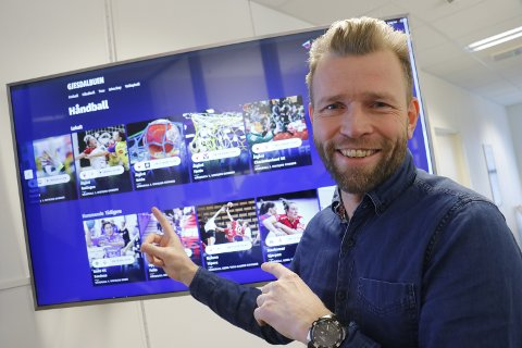 Gjesdalbuen-redaktør Eugen Hammer lover at det skal bli slutt på løsninger med «strikk og binders» for å kunne se Direktesport på fjernsynet hjemme.