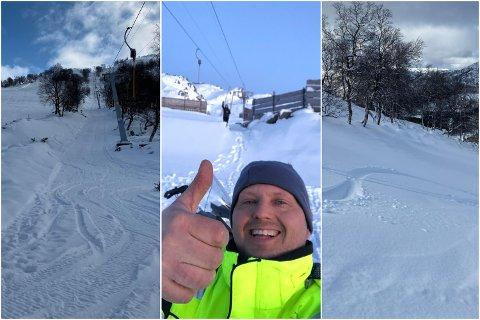 Etter at fjorårssesongen uteble, ser Idar Gilje fram til å åpne endelig åpne skitrekket på Gilja denne helgen.