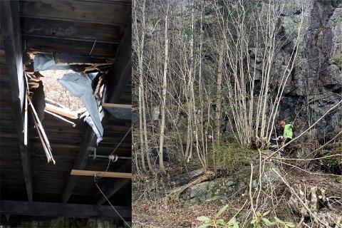 To år etter at en stein braste rett gjennom et tak i Ålgårdsveien, har det blitt satt i gang rassikring.
