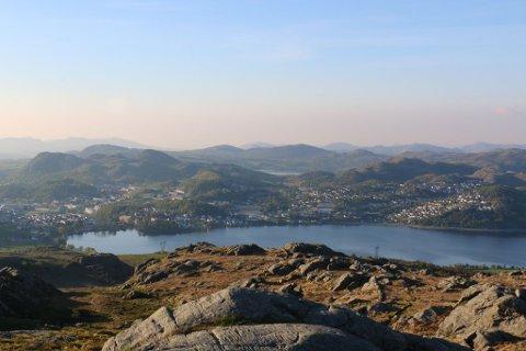 Telltur-turmålet i Gjesdal er Edlandsfjellet.