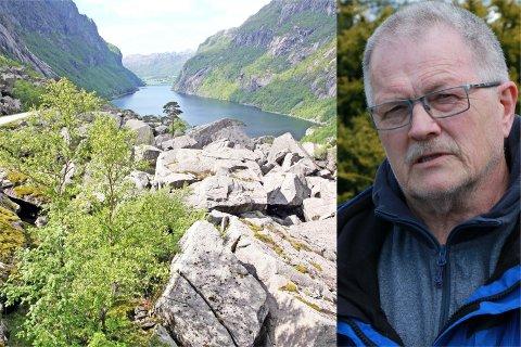 Bjørn Magne Bringeland vil ha slutt på det han mener er historieforfalskning om det som egentlig skjedde i Gloppedalsura under andre verdenskrig.
