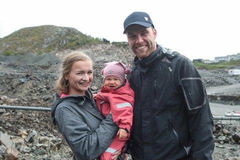 Om et års tid flytter Simon Sægrov Eiane med samboeren Rikke Nygaard og datteren Adelen inn i nytt hus i Kodlidalen.