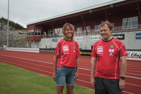 Marianne Bergset Tjetland og Egil Ravndal i Gjesdal idrettslag inviterer til aktivitetsdag i idrettsparken på Solås lørdag 22. august.