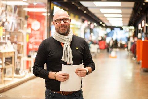 Anker Wiinberg ved Norwegian Outlet forteller om en nærmest absurd vekst i omsetningen .