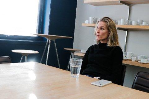 Anne Kristin Rugland Thulin frykter at en økning i CO2-avgiften, som Figgjo AS så langt har hatt unntak fra, kan bety en sterk reduksjon i antall arbeidsplasser.