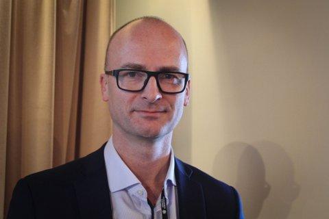 Asbjørn Heieraas er leder for plan og prosjektutvikling i Nye Veier.