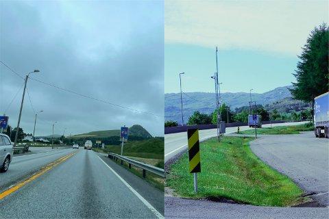 Statens vegvesen vil sette opp flere veitavler langs E39, blant annet på Osli og ved Søylandskiosken.