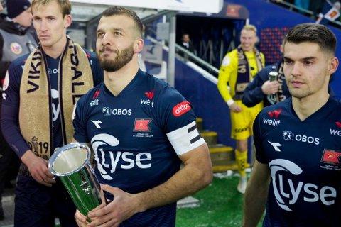 Viking er fremdeles regjerende norgesmestere, etter at de slo Haugesund i cupfinalen på Ullevaal desember 2019. Søndag møter de Djerv 1919i cupen. Kampen kan du se på Gjesdalbuens nettsider.