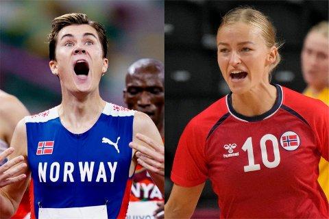 Jakob Ingebrigtsen og Stine Bredal Oftedal har noe til felles - i Gjesdal.