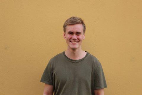 Magnus Krogh ønsker seg frisbeegolfbane i Gjesdal.