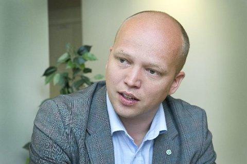 MISFORNØYD: - Dette statsbudsjettet er et angrep på den norske landbruksmodellen, mener Trygve Slagsvold Vedum.