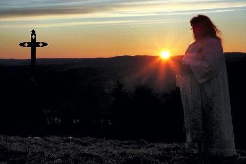 AVLYST: I år blir det ingen påskemorgengudstjeneste på grunn av fangeflukten. Foto: Frede Y. Eriksen