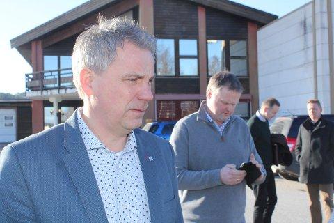 UTVIKLINGSPARK: Per-Otto Sletten (t.v.) og Ole Peder Berggren har vist at de kan drive business. Nå vil de gjøre Kvisler til et kraftsentrum i Solør.