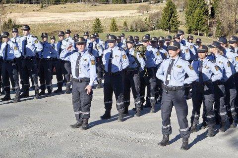 FÆRRE STUDENTER: Et flertall på Stortinget har vedtatt å fjerne bachelorutdanningen ved Politihøgskolens utdanningssenter i Kongsvinger.