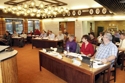 KOMMUNESTYRET: Tirsdag skal kommunestyret i Eidskog avgjøre Eidskog Næringsservice KFs videre skjebne. Foto: Vidar Nygårdseter
