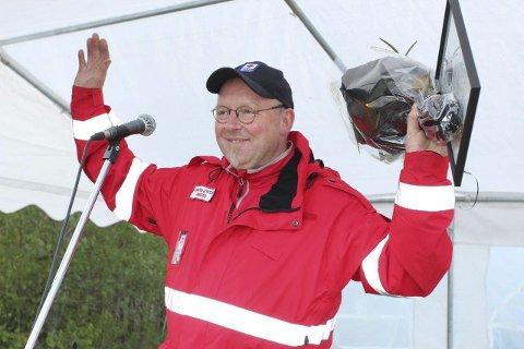 Pris: Dagfinn Omberg ble Årets Vestmarking for sin store innsats for Vestmarka-samfunnet.