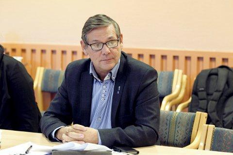 OPPGITT: Ordfører Niels F. Rolsdorph er oppgitt over manglende involvering når det gjelder asylmottak på Opaker Gård