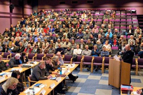FORRIGE GANG: Da kommunestyret i Nord-Odal stemte over vindkraftutbygging i 2013 ble resultatet 14-11 mot utbygging. Foto: Ole-Johnny Myhrvold
