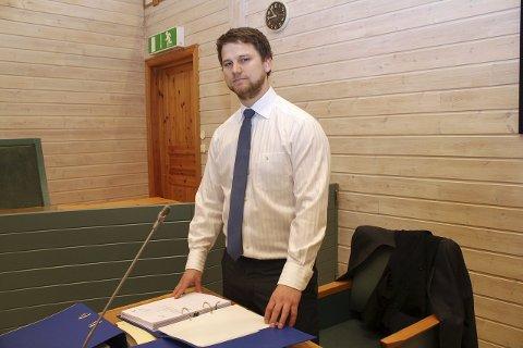 BOSTYRER: Øyvind Borg er bostyrer i konkursrammede Hedmark Hus AS på Arneberg.