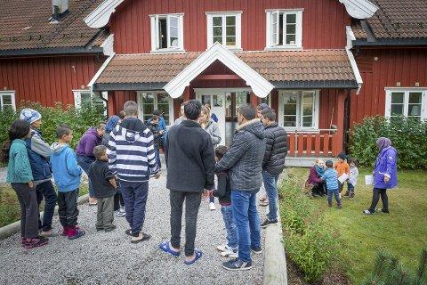 SLUTT: I løpet av februar kan det være slutt for de 120 akuttplassene på Opaker gård. Blostrupmoen har lagt inn anbud på 110 faste plasser på Slobrua.