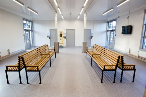 I dag åpnet Jernbaneverket venterommet på Kongsvinger stasjon etter å ha vært stengt noen måneder på grunn av oppussing.