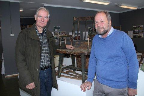 BYGG: Jan Larsson og Dag Raaberg i Norsk Skogfinsk museum kan åpne for arkitektkonkurranse til nybygget i Svullrya til neste år. Departementet har lovet penger til nybygg.
