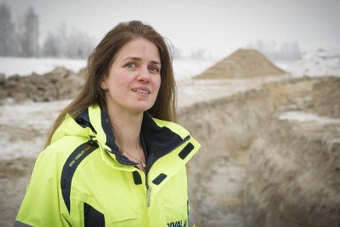 VANN OG AVLØP: GIVAS-leder Hanne Rolsdorph synes det er gledelig med så stor interesser for en ingeniørstilling. FOTO: JENS HAUGEN