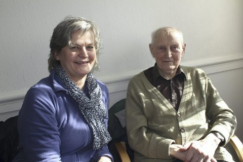 Flytter inn: May Toril Sætre er glad for at Arne og Gudrun Borg flytter inn i det nye Hof Bo- og Aktivitetssenter om kort tid.