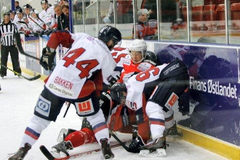 I VEKST: Mye står på spill når Knights møter Lillehammer i kvaliken. Vil knektene følge opp de gode resultatene fra de to foregående kampene?