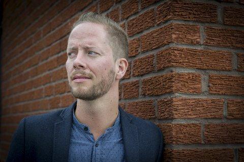 NY BOK: Tommy Skoglund arbeider med ei ny bok, og har latt seg inspirere på Ingmar Bergmans Fårø. arkivfoto: Jens Haugen