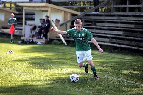 MÅLSCORER: Morten Saugnes scorte Sander sitt første mål i bunnoppgjøret mot Jevnaker.