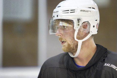 Fortsetter: Sean-Michel Sunnqvist tar en ny sesong i Knights-trøya.